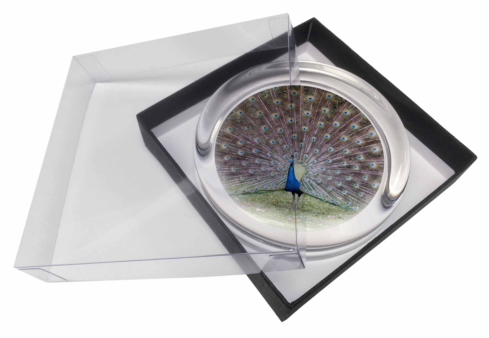 Peacock Paper Towel Holder Colourful Peacock Glass Paperweight In Gift Box Christmas