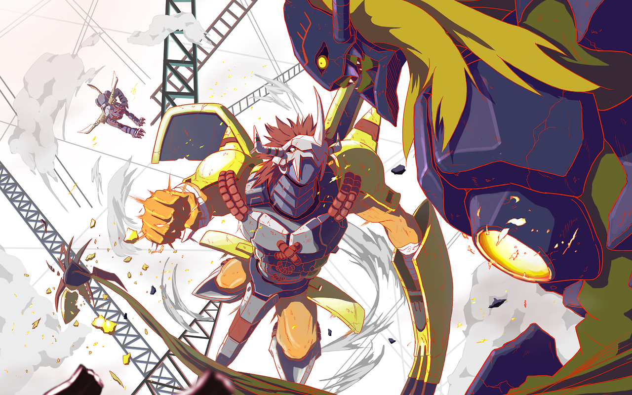 Wargreymon Wallpaper 3d Digimon Adventure The Movie Advdmo