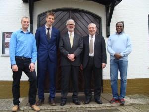 Ds. Tom de Bruin, Lex van Dijk en de ouderlingen van Huis ter Heide