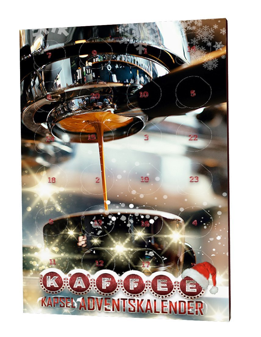 Kaffee Adventskalender Kaffee Kapsel Adventskalender Tassimo 1er Pack 1 X 370 G