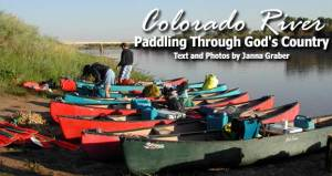 Canoe Trip on the Colorado River