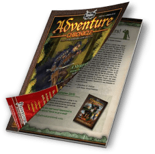 Adventure Chronicle Tabletop Roleplaying Game Magazine
