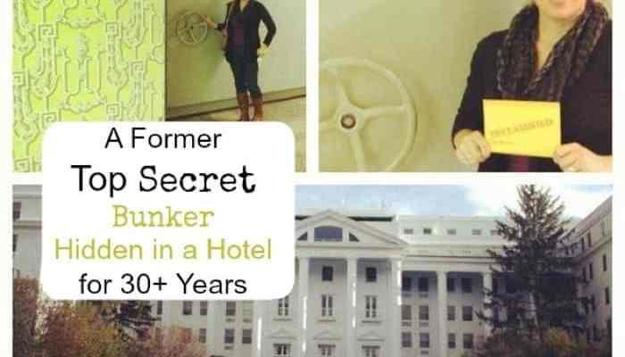 A Former Top Secret Bunker Hidden in a Hotel for 30+ Years
