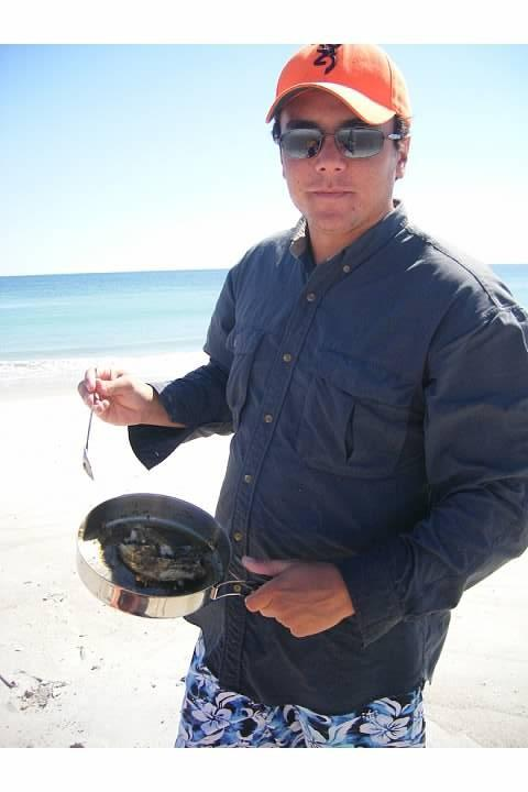 Fresh caught spanish mackerel
