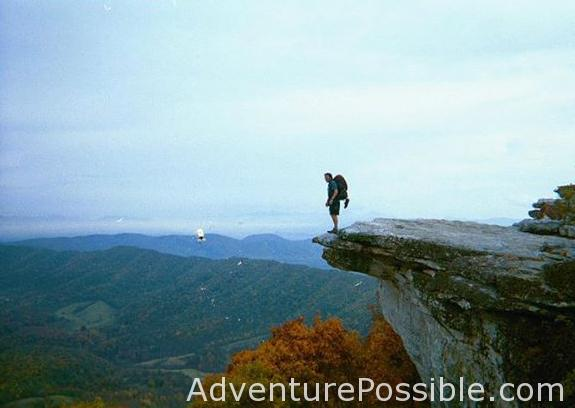 Southbound Appalachian Trail Thru Hiker