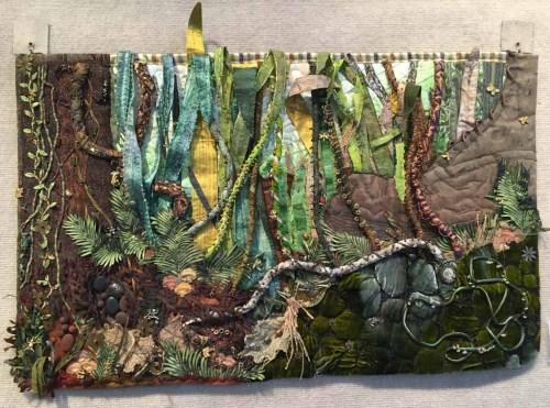 """""""The Quilt as Art"""" exhibit. Ellen Lindner, AdventureQuilter.com/blog"""