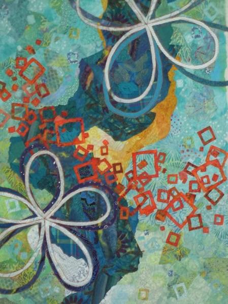 I Whacked off a Corner. Ellen Lindner, AdventureQuilter.com/blog