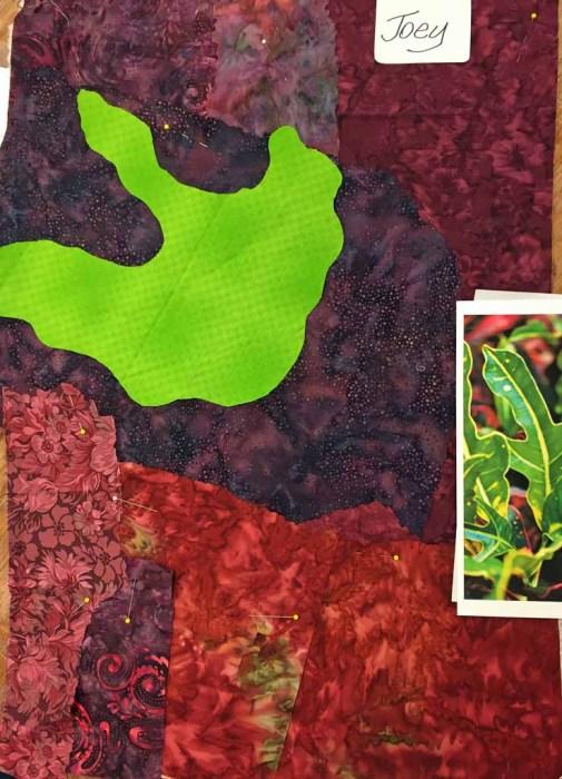 Design Your Own Nature Quilt class with Ellen Lindner. AdventureQuilter.com/blog