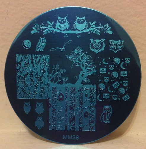 Messy Mansion Stamping Plate MM38