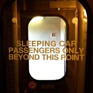 Sleeping car onboard Sunlander Train