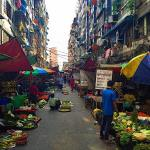 On this street in Yangons Chinatown you can buy everythinghellip