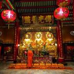 Worship at one of the mesmerizing Buddhist temples tucked awayhellip