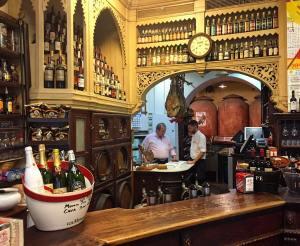 The real deal a classic taverna in Sevilla Thanks devoursevillehellip