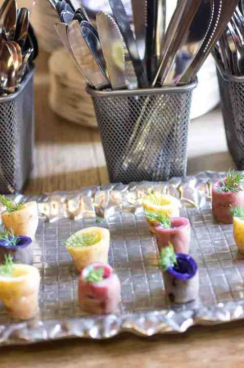 Potato Vodka Shooters