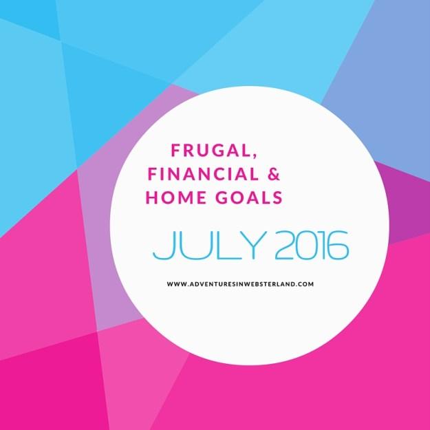 Frugal, Financial & Home Goals (1)