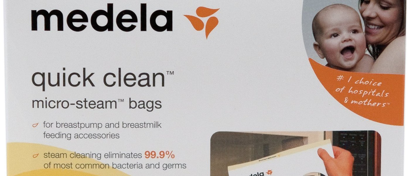 Featured Product for Parents: Medela Quick Clean Micro-Steam Bag