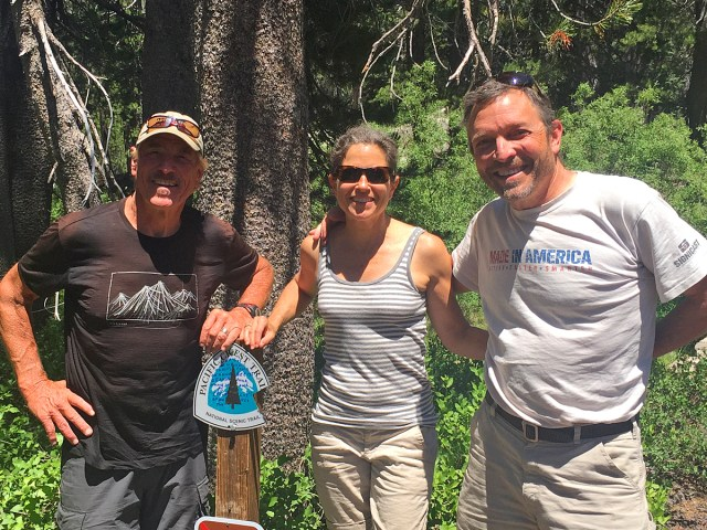 PCT - Meeting friends on the trail