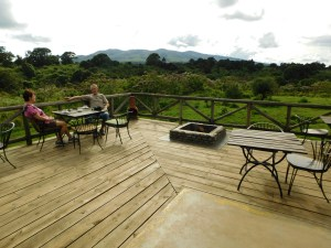 Attractive views abound at Rhino Lodge