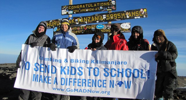 Climb Kilimanjaro with Make A Difference