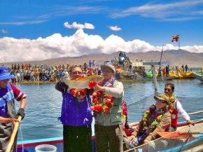 Pesca deportiva en Peru, Lago Titicaca