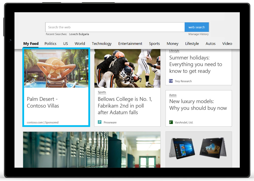 Microsoft Audience Ads Native advertising solution - Bing Ads