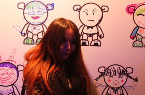 Chevrolet China - SPARK MYSELF Launch Party (Grafitti Wall) 5