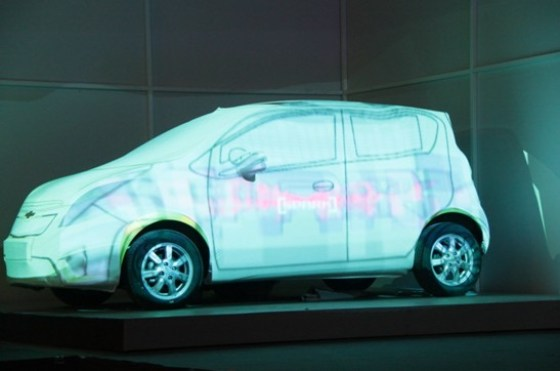 Chevrolet China - SPARK MYSELF Launch Party (Light Show) 2