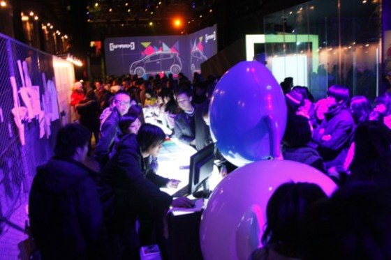 Chevrolet China - SPARK MYSELF Launch Party (Personalised T-shirts)