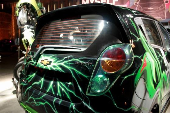 Chevrolet China - SPARK MYSELF & Transformers 4