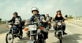 """Taiwan's TC Bank television commercial """"Dream Rangers"""": Elderly men riding motorcycles."""
