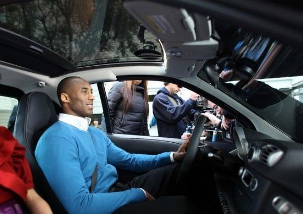 Smart car kobe bryant is big in the city of beijing for Bryant motors used cars