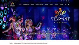 vibrant fest Website designing