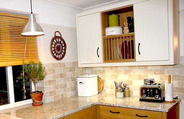 How To Construct A Plate Rack Diy Kitchens Advice