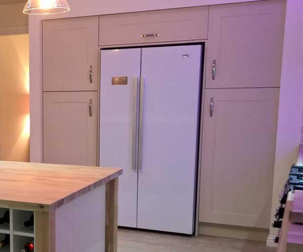 How Do I Box In An American Fridge Freezer Diy Kitchens