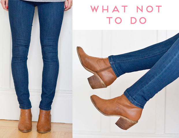 How To Wear Booties With Skinny Jeans