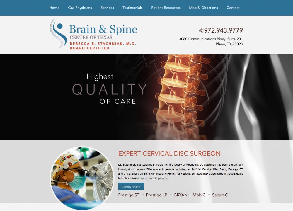 Brain and Spine of Texas - Advice Media