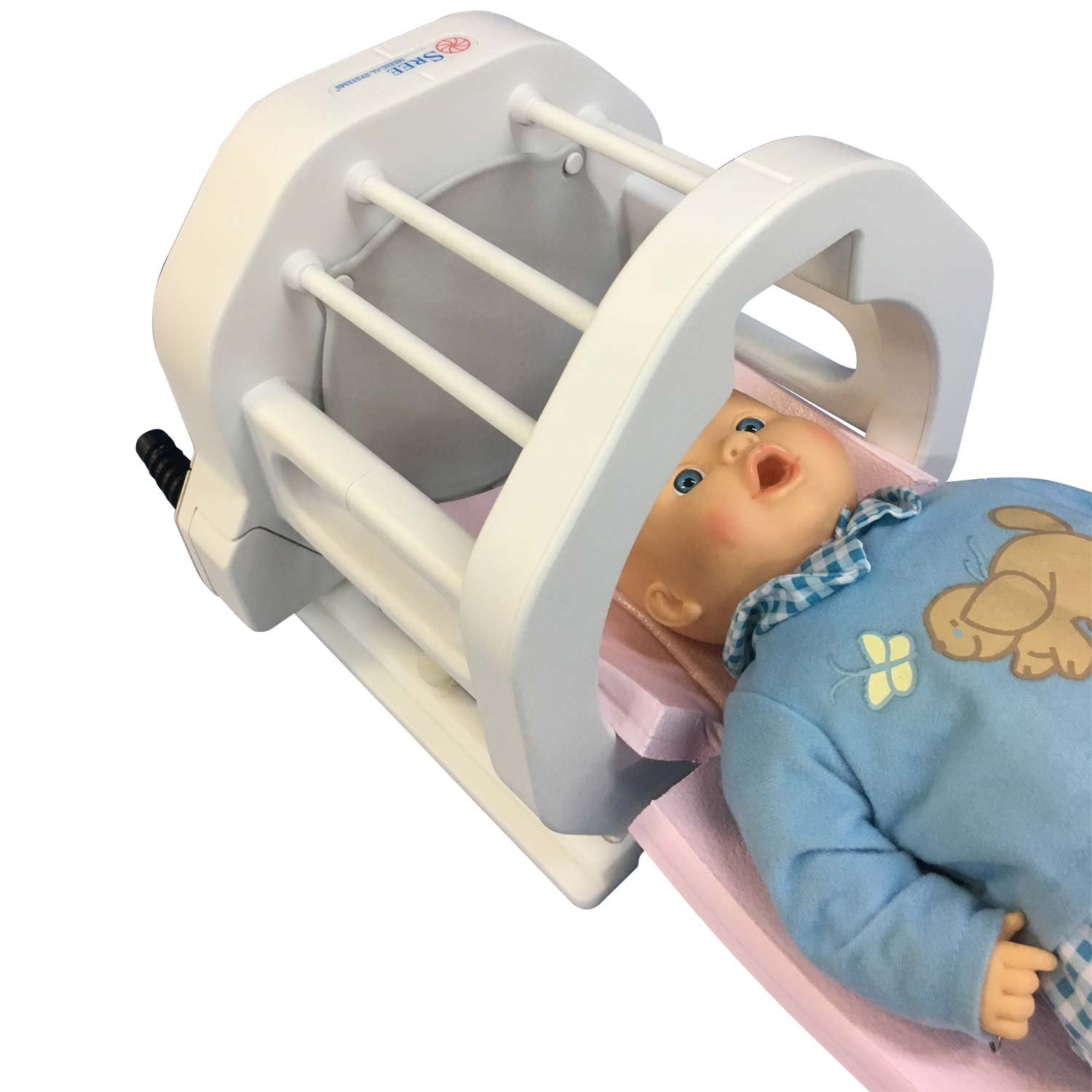 Newborn Baby On Ventilator Neonate Head Coil – Sree Medical