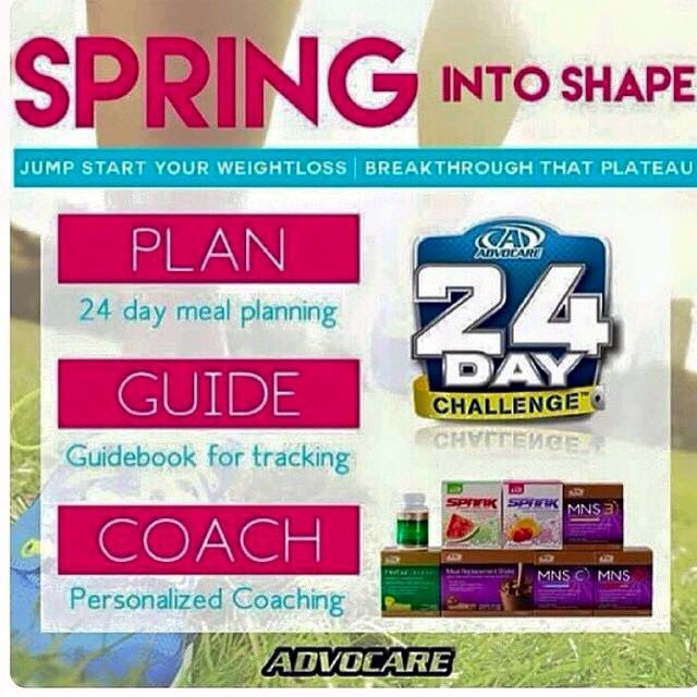 Online 24 Day Challenge Mixer Advocare Team Unity - 24 day challenge guide