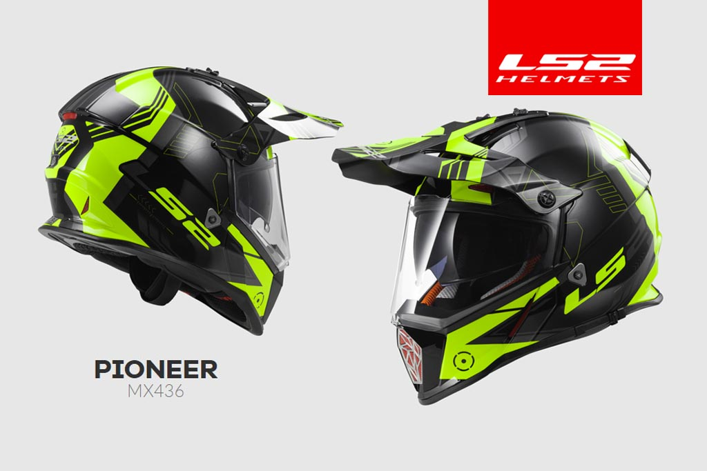 Ls2 Helmet Ls2's New Adv Helmet With Drop-down Sun Visor Under $150