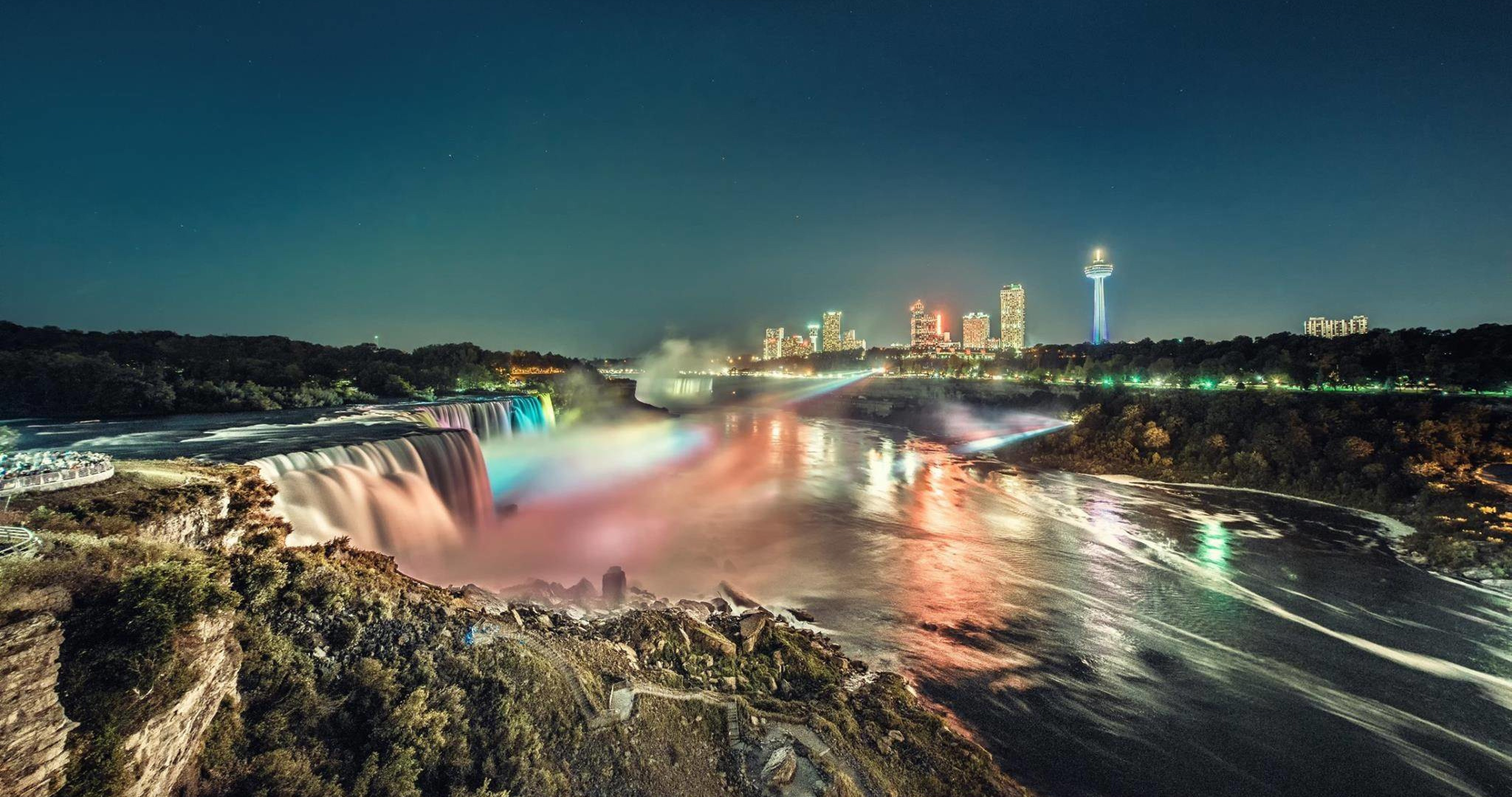 Victoria Falls Wallpapers High Resolution Niagara Falls At Night 4k Ultra Hd Wallpaper 187 High