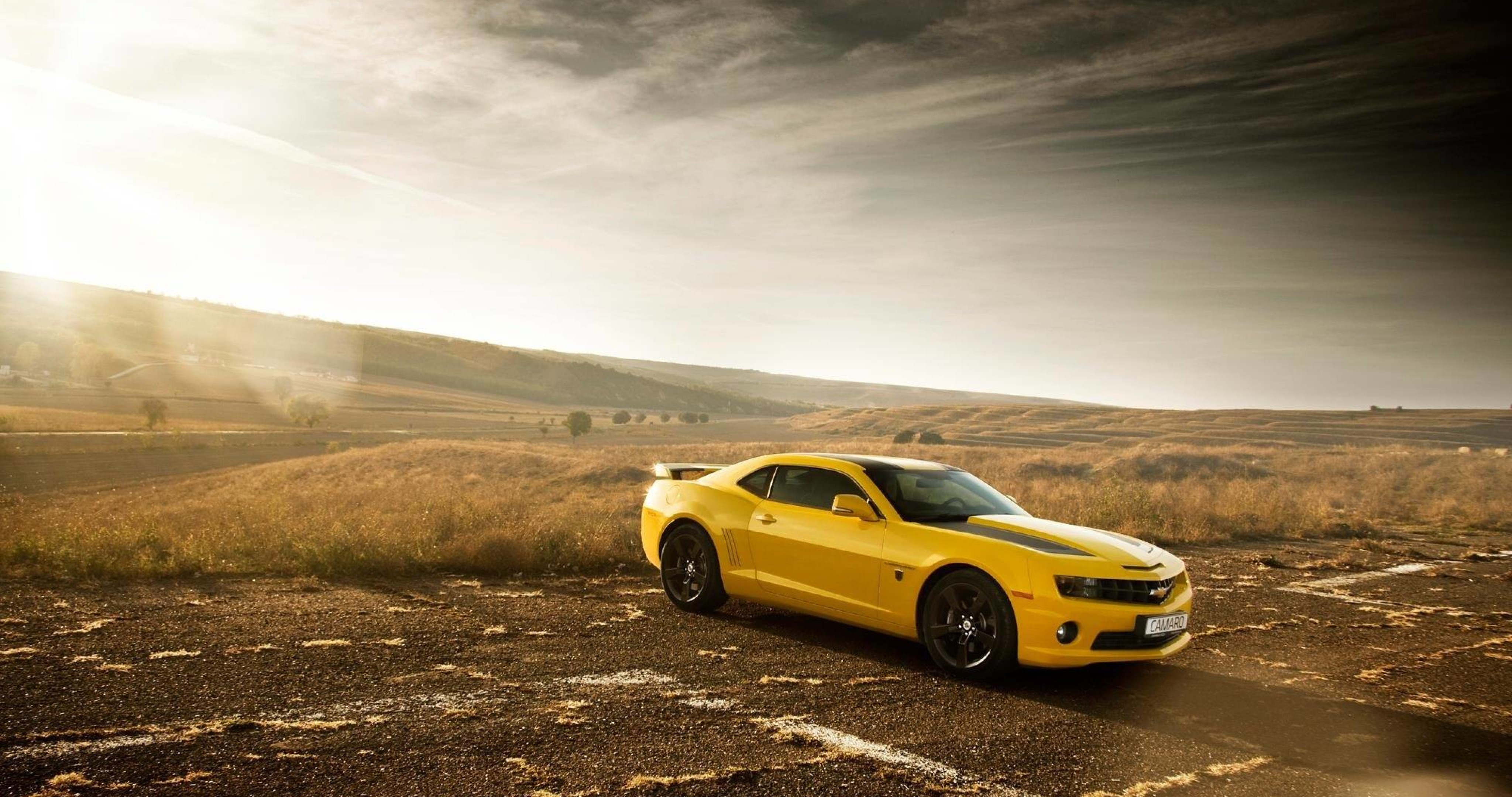 High Resolution Muscle Car Wallpapers Chevrolet Camaro Ss Bumblebee Edition 4k Ultra Hd