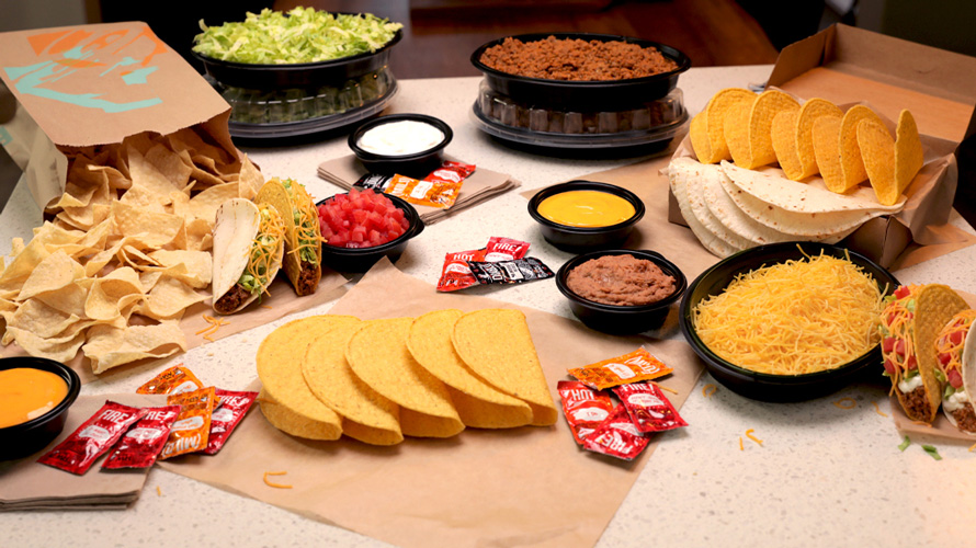 Taco Bell Offers At Home Taco Bar Kits For Cinco De Mayo - Ticaa Möbel