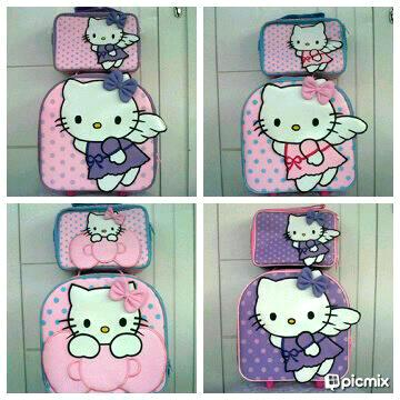 Tas Koper Hello Kitty Adzlanshop
