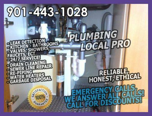 DO YOU NEED A PLUMBER ? CALL THE BEST PLUMBING PLUMBERS (Memphis