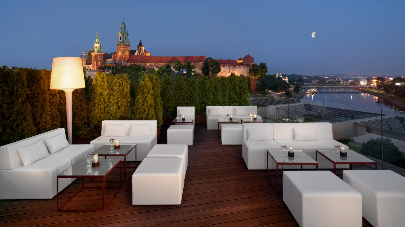 Terrasse Lounge Roof Top Terrace And Lounge Bar Sheraton Grand Krakow