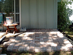 concrete pavers photo