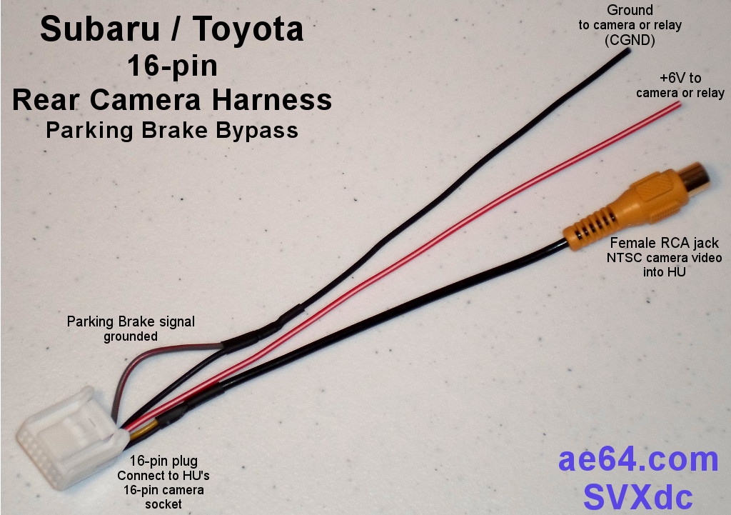 Reverse Camera Wiring Diagram Toyota - Wiring Diagrams Schema