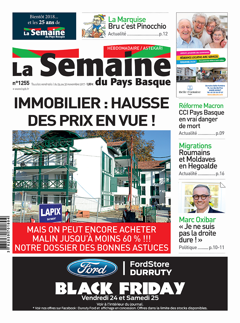 Programme Immobilier Neuf Pays Basque La-semaine-du-pays-basque_1255_dossier-immo - Aedifim