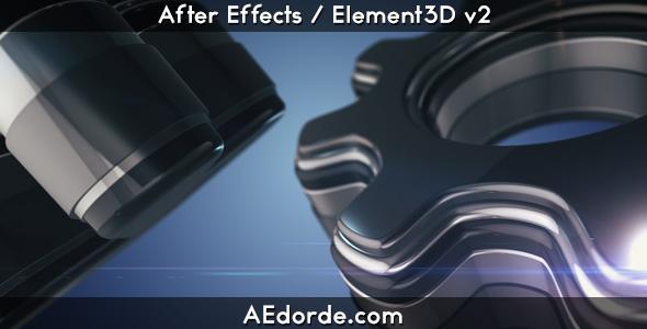Realistic 3D Logo