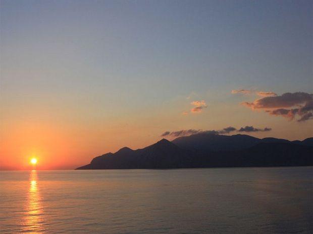 Ηλιοβασίλεμα - Αμοργός